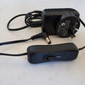 12V Power Adaptor Cord